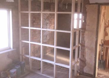 New Stud Walls & Dry-Line